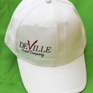 cappellino padel deville bianco