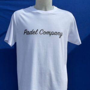 maglietta padel basic bianca