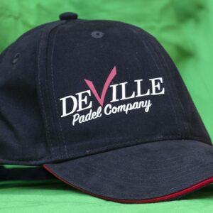 cappellino padel deville nero