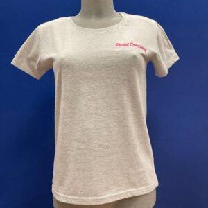 maglietta padel donna grigia