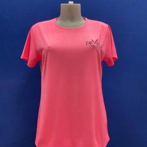 maglietta padel donna tshirt rosa