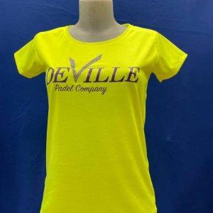 maglietta t-shirt donna gialla